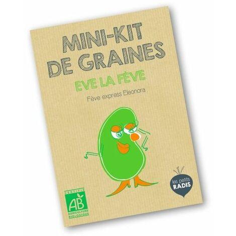 Mini kit de graines BIO d'Eve la fève