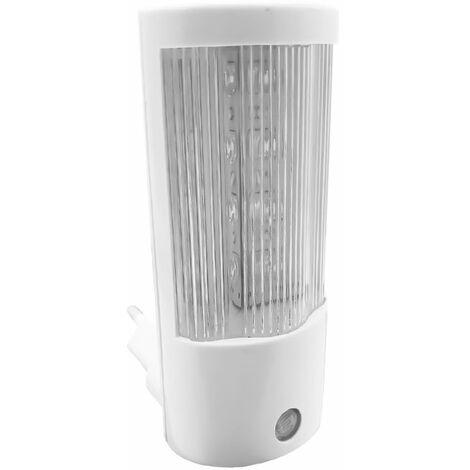 Mini lampada notturna a led con sensore crepuscolare punto luce soffusa