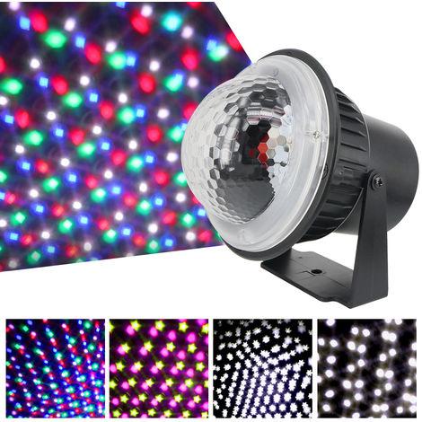 Mini LED de luz del proyector, lampara de escenario de copo de nieve, AC85V-240V,5W