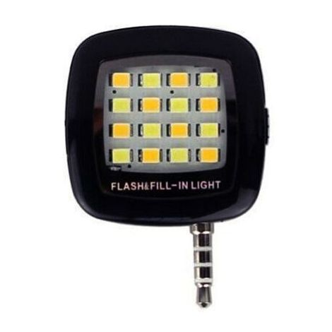 Mini LED para conexion jack 3.5 movil Negro