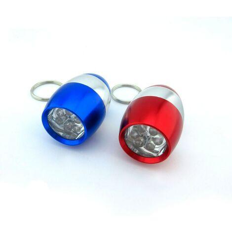 Mini linterna llavero 6 Leds -Disponible en varias versiones