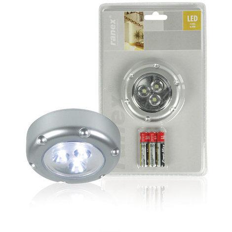 Mini luz LED por presión Ranex