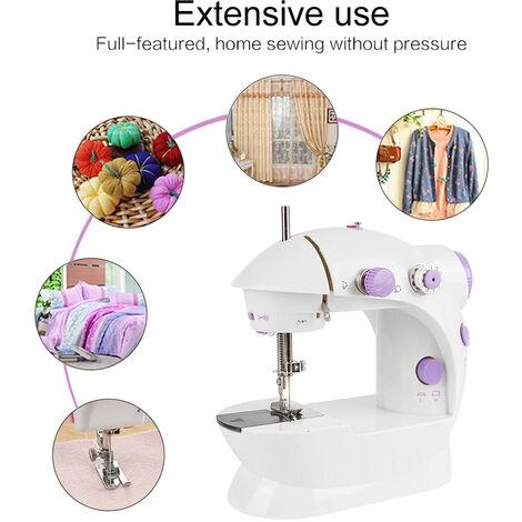 Mini machine à coudre électrique garment ménage