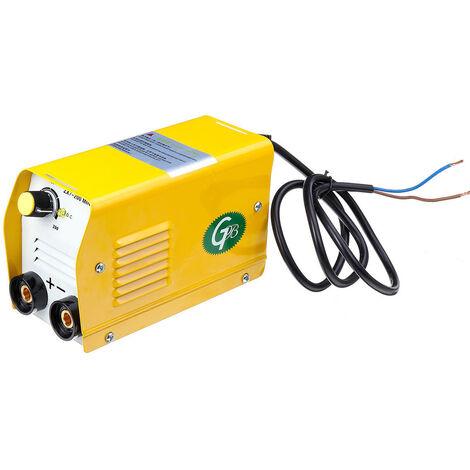 Mini maquina de soldadura de arco electrico MMA stick Soldador, 220 V