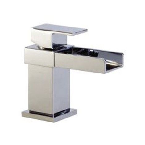 "main image of ""Mini Mono Basin Mixer Tap - Series AO by Voda Design"""