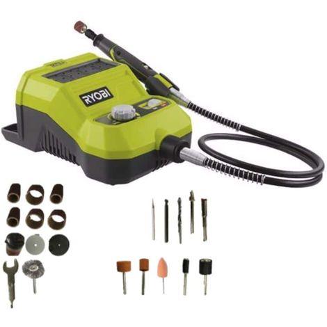 Mini multifunction tool RYOBI 18V - 33 accessories R18RT-0