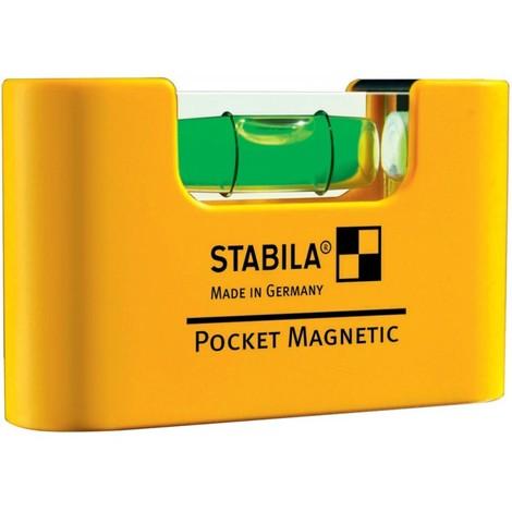 Mini-Niveau de poche 7cm Magnetique SB Stabila