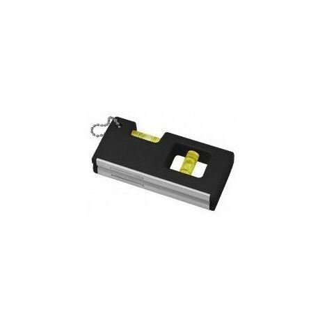 Mini niveau magnetique - longueur:100 mmnombre de fioles:2 fioles