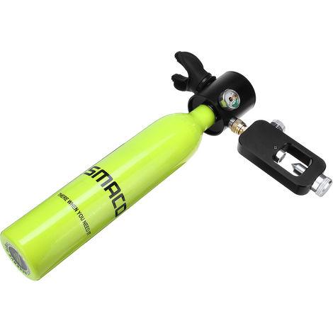 Mini Oxygen Cylinder Scuba Diving Equipment Air Oxygen Tank Set