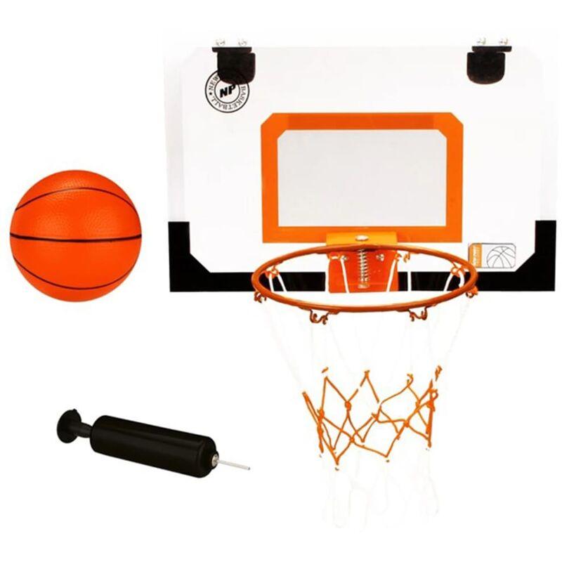 True Deal - Mini panneau de basket New Port avec anneau balle pompe