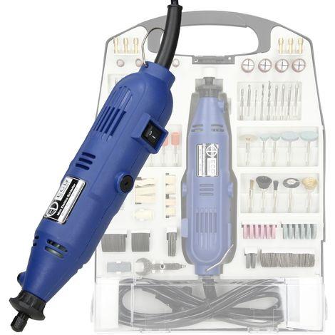 Mini perceuse électrique broyeur-perceuse pour meuleuse 130 watts 243 pièces
