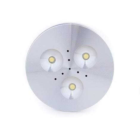 Mini Plafón LED Superficie Muebles 3W 270Lm 30.000H Cable 2M | Blanco Natural (KD-CL7015L-3W-W)