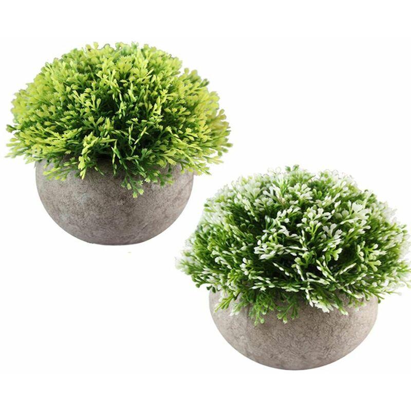 Mini Plantes Succulentes Artificielles Avec Pot Plante Decorative
