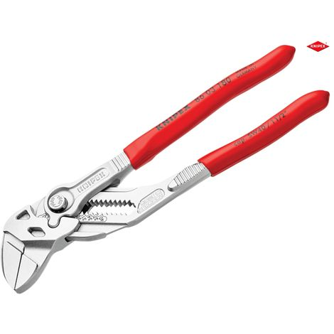 Mini Pliers Wrench, Plastic Coated, Chrome Plated