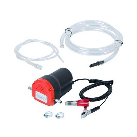 Mini pompe à gasoil à huile 12V pour vidange moteur transfert gasoil fuel
