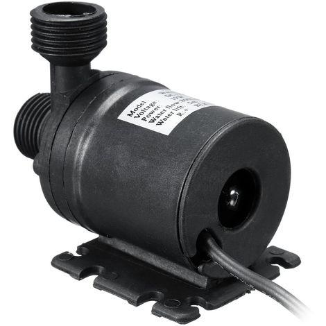 Mini Pompe ¨¤ Eau Submersible 800L/H Silencieux ascenseur DC 12V 5M Brushless Mot