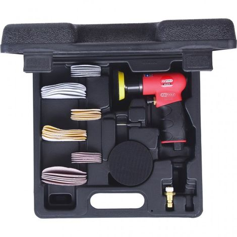 Mini-ponceuse excentrique SlimPower et accessoires KS TOOLS 515.5110