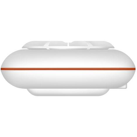 Mini portatil ultrasonico Turbina Lavadora Lavadora con cable USB para hogar del recorrido del viaje de negocios, Rojo