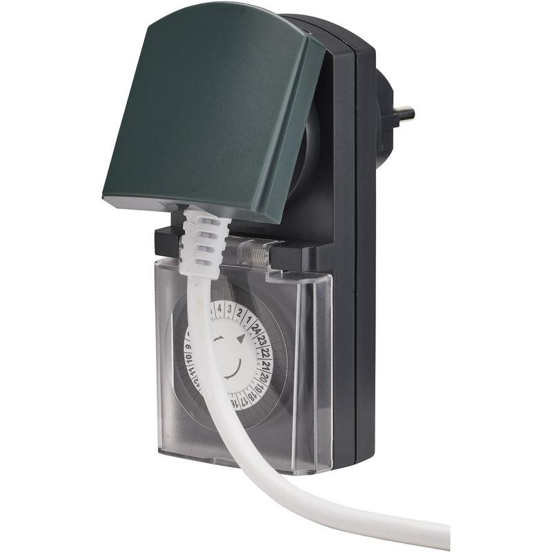 Mini programmateur mécanique exterieur IP44 - Debflex - 500010