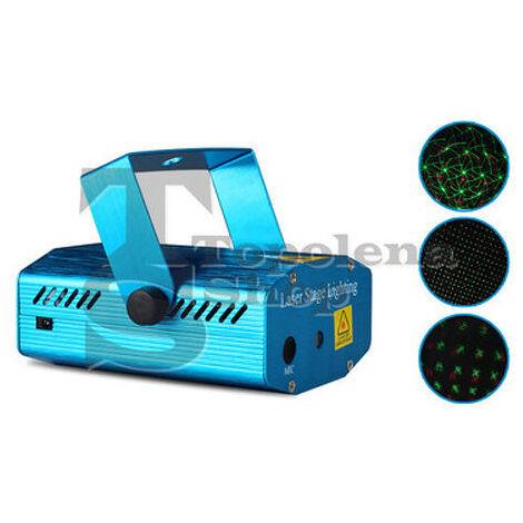 Mini Proiettore Laser Effetto Luci.Mini Proiettore Laser Effetto Luci Per Disco Discoteca Feste Nota