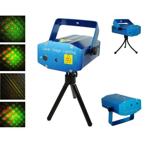 Mini Proiettore Laser Effetto Luci.Mini Proiettore Laser Effetto Puntini Luci Verde E Rosso Per Luce