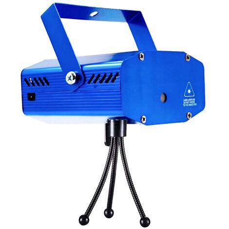Mini Projector Light Stage Light Usb Powered Projection 3D Lampe Romantique Etoiles Party Celebration Et Anniversaire Festival D'Illuminations De Noel