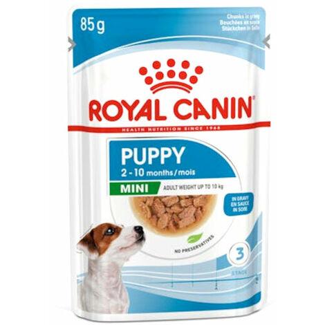 Mini puppy buste cane Royal Canin 12x85gr