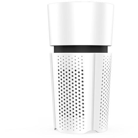 Mini purificateur d'air de voiture purificateur d'air d'alimentation USB blanc