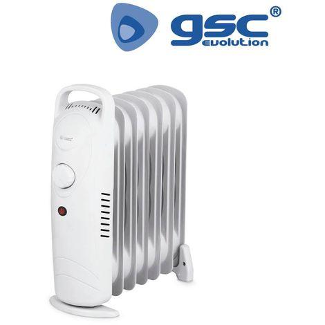 Mini-radiador de aceite 600/900 W GSC 9 elementos