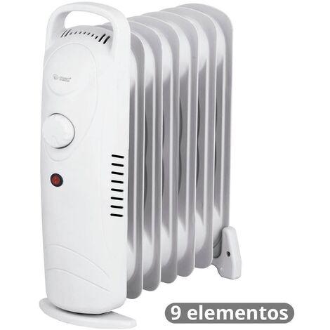 Mini-radiador de aceite de 9 elementos 900W