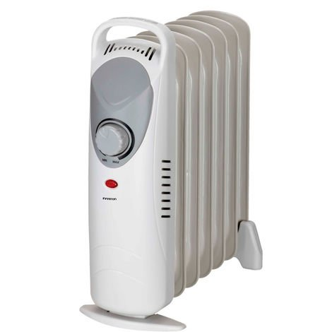 Mini radiador de aceite INFINITON HORM-800 - Blanco, 800W