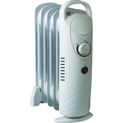 Mini radiateur bain d'huile 500W - Warmtech