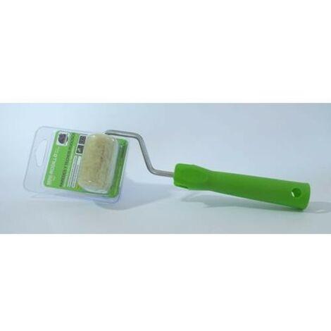 mini rodillo hilo verde 6 cm va
