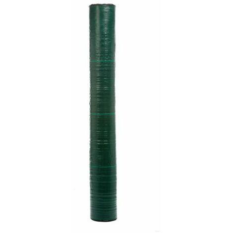 Mini Rollo 1x10m Malla Antihierbas 100gr Verde