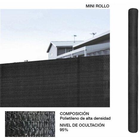 MINI ROLLO MALLA 95% DE OCULTACION VERDE 1,5X10M