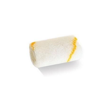 Mini rouleau perlon ROTAL rayé jaune GOLDFADEN antigouttes, anti-projection 6 cm