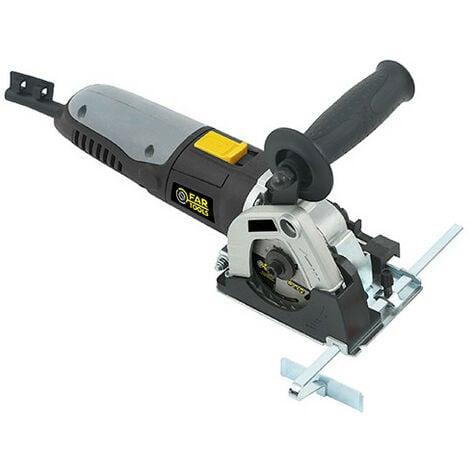 Mini scie circulaire D. 85 mm sur rail 700 mm CS 85R 500W 230 V - 115446 - Fartools - -