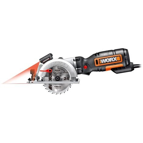 Mini scie laser circulaire Mini Worx WX427