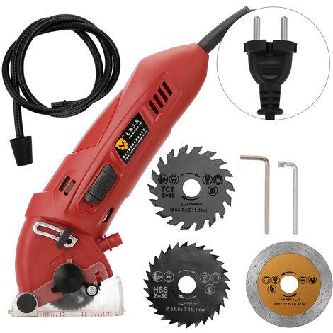 Mini scie multifonctionnelle 400W, scie a metaux, machine de decoupe, scie circulaire electrique, scie a bois, 220V EU