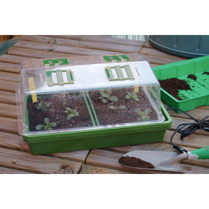 Mini serre chauffante pour semis \