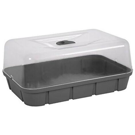 Mini serre de culture avec aération - 15.7L - EDA Plastiques