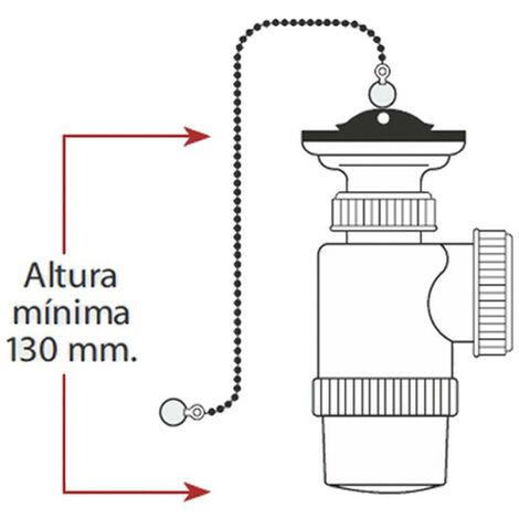 Mini Sifon Botella Extensible V70 Con Cadena Y Tapon - NEOFERR..