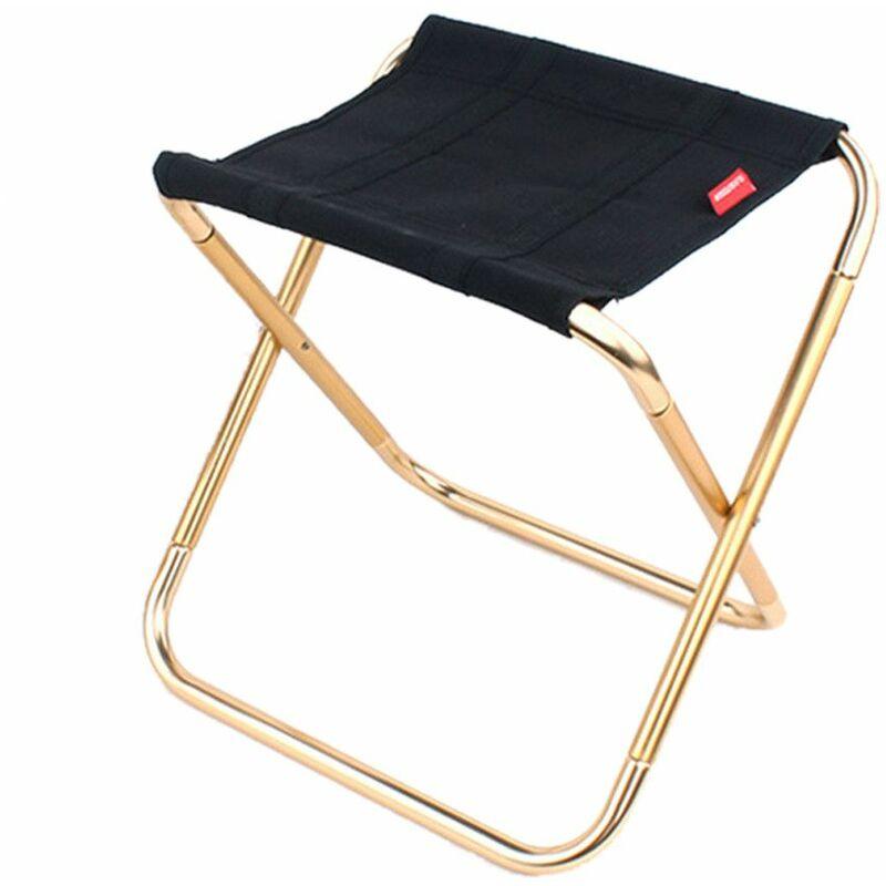 Mini siège de tabourets de chaise pliante extérieure portative Multicolore