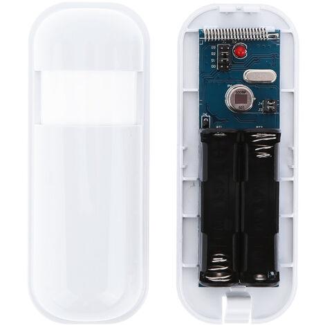 Mini sistema de alarma de detector de movimiento de sensor pasivo infrarrojo inalambrico PIR