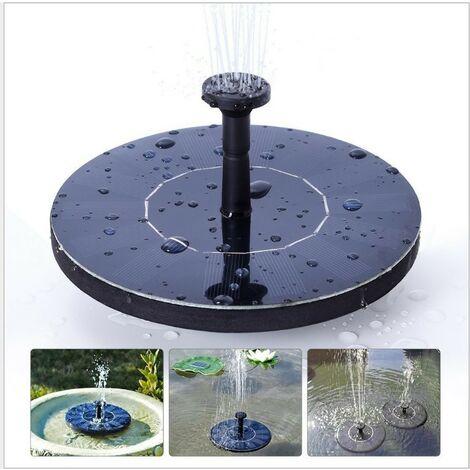 "main image of ""Mini Solar Water Mercury Garden Floating Fountain Solar Water Sprinkler Outdoor Running Water Fountain Solar Fountain"""