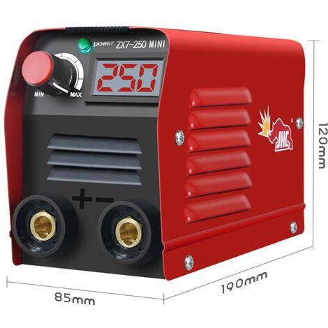 Mini soldadora electrica del hogar portatil ajustable actual 20-250A