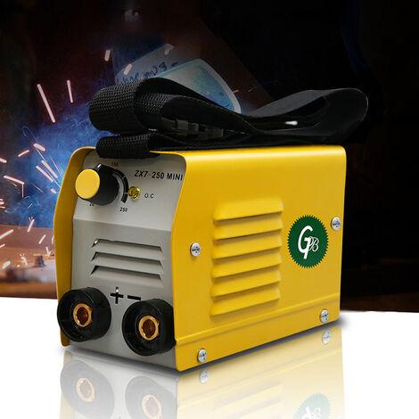 Mini soldadora electrica del hogar portatil ajustable actual de 220 V 20-250A