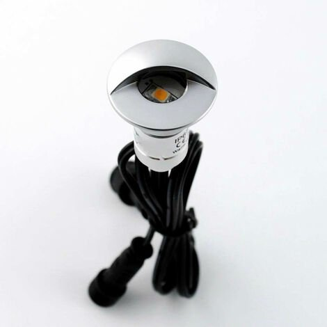 Mini spot LED encastrable 0,3W 12V