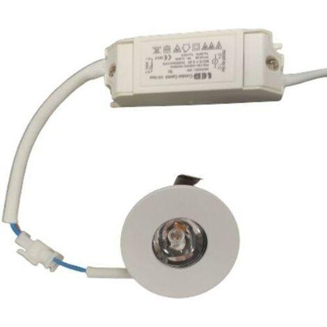 Mini Spot LED Encastrable 3W 24° Rond
