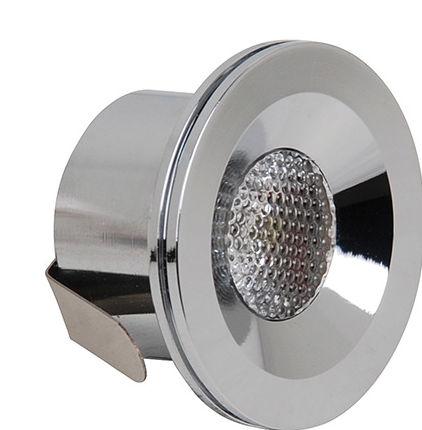 Mini spot LED encastrable 3W (Eq. 24W) 4200K Matchrome Diam.40mm Haut 25mm